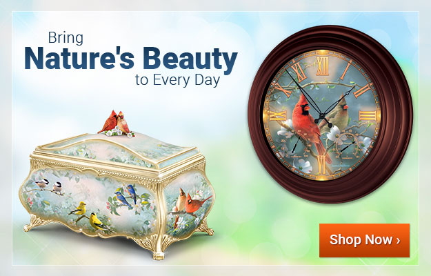 Bring Natures Beauty to Every Day - Shop Now