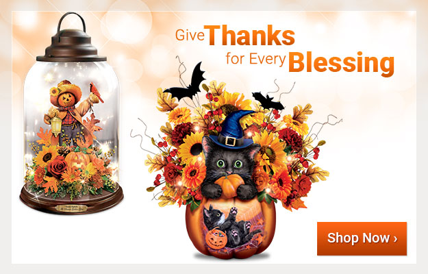 Give Thanks for Every Blessing - Shop Now