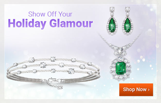 Show Off Your Holiday Glamour - Shop Now