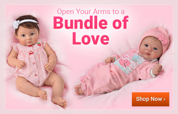 Open Your Arms to a Bundle of Love - Shop Now