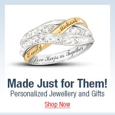 Made Just for Them! Personalized Jewellery and Gifts - Shop Now