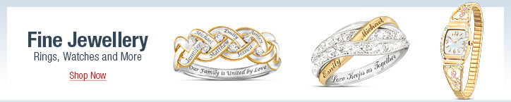 Fine Jewellery - Rings, Watches and More - Shop Now