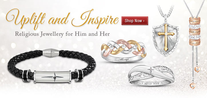 Uplift and Inspire - Religious Jewellery for Him and Her - Shop Now