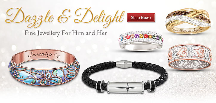 Dazzle & Delight - Fine Jewellery for Him and Her - Shop Now