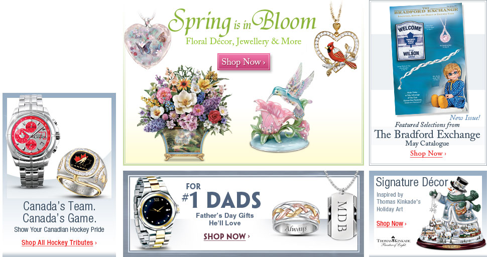 Spring is in Bloom - Floral Decor, Jewellery and More - Shop Now