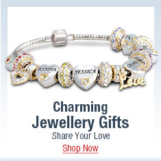 Charming Jewellery Gifts - Share Your Love - Shop Now