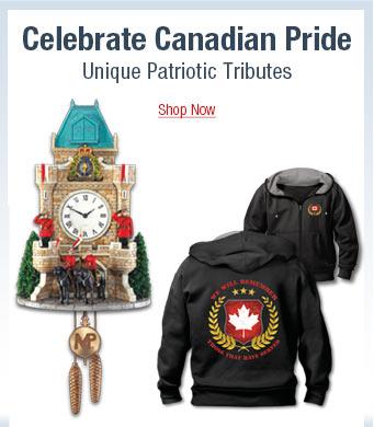 Celebrate Canadian Pride - Unique Patriotic Tributes - Shop Now