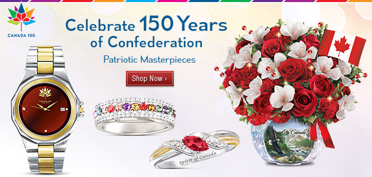 Celebrate 150 Years of Confederation - Patriotic Masterpieces - Shop Now