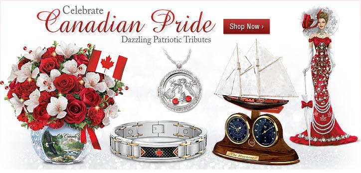 Celebrate Canadian Pride - Dazzling Patriotic Tributes - Shop Now