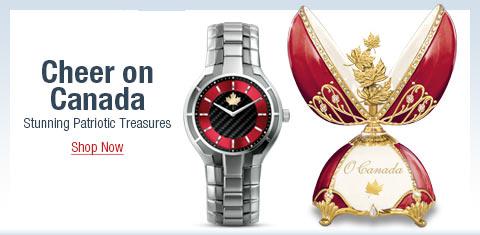Cheer on Canada - Stunning Patriotic Treasures - Shop Now