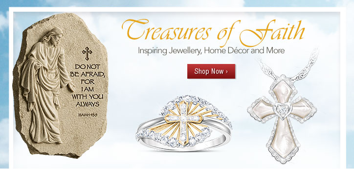 Treasures of Faith - Inspiring Jewellery, Home Décor and More - Shop Now