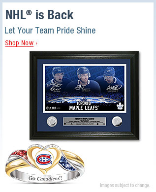 NHL® is Back - Let Your Team Pride Shine - Shop Now
