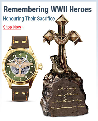 Remembering WWII Heroes - Honouring Their Sacrifice - Shop Now