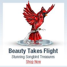 Beauty Takes Flight - Stunning Songbird Treasures - Shop Now