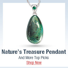 Nature's Treasure Pendant and More Top Picks - Shop Now