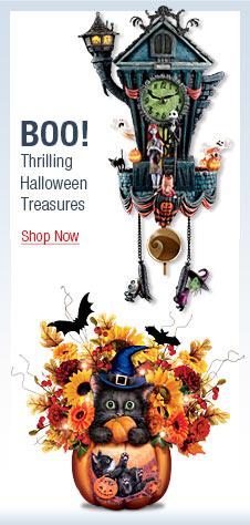 BOO! Thrilling Halloween Treasures - Shop Now