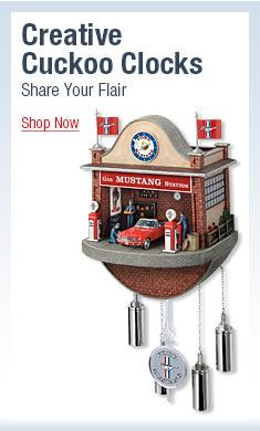 Creative Cuckoo Clocks - Share Your Flair - Shop Now