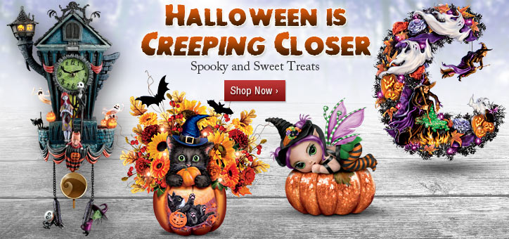 Halloween is Creeping Closer - Spooky and Sweet Treats - Shop Now