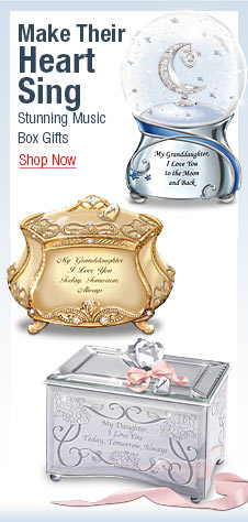 Make Their Heart Sing - Stunning Music Box Gifts - Shop Now