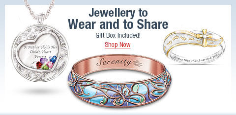 Jewellery to Wear and to Share - Gift Box Included! Shop Now