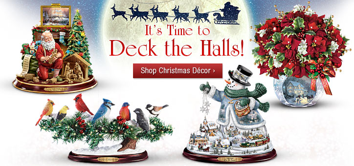 It's Time to Deck the Halls! Shop Christmas Decor