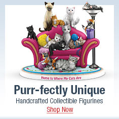 Purr-fectly Unique - Handcrafted Collectible Figurines - Shop Now