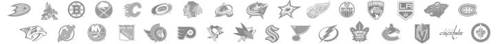 NHL Registered Logos