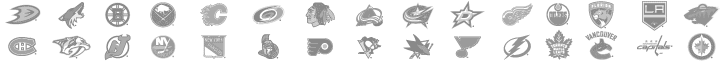 NHL Registered Logos