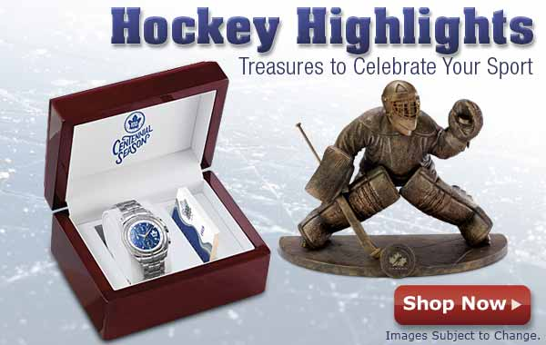 Hockey Highlights - Treasures to Celebrate Your Sport - Shop Now