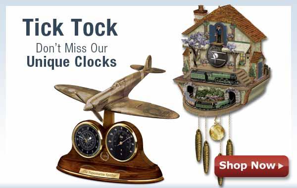 Tick Tock Don't Miss Our Unique Clocks - Shop Now
