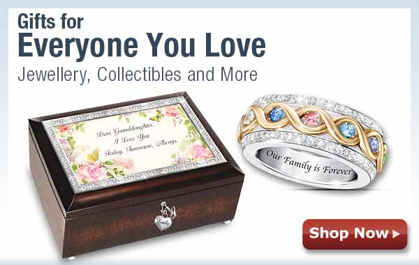 Gifts for Everyone You Love - Jewellery, Collectibles and More - Shop Now