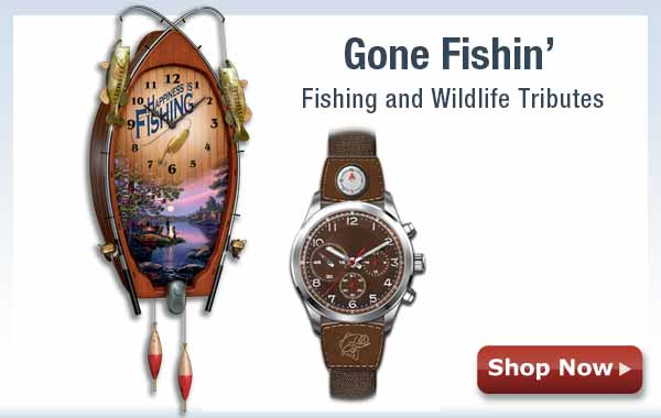 Gone Fishin' - Fishing and Wildlife Tributes - Shop Now