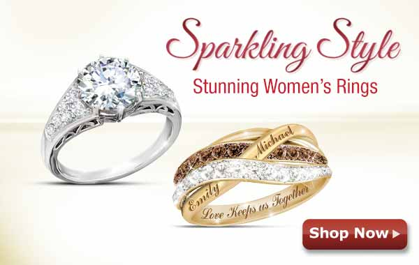 Sparkling Style - Stunning Women's Rings - Shop Now