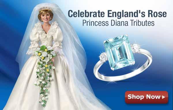 Celebrate England's Rose - Princess Diana Tributes - Shop Now