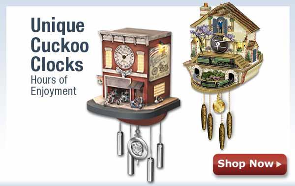 Unique Cuckoo Clocks - Hours of Enjoyment - Shop Now