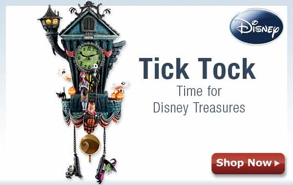 Tick Tock - Time for Disney Treasures - Shop Now