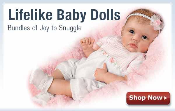 Lifelike Baby Dolls - Bundles of Joy to Snuggle - Shop Now