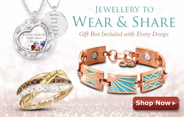 Jewellery to Wear & Share - Gift Box Included with Every Design - Shop Now
