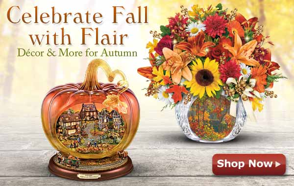 Celebrate Fall with Flair - Decor & More for Autumn - Shop Now