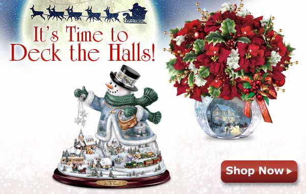 It's Time to Deck the Halls! Shop Now