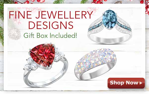 Fine Jewellery Designs - Gift Box Included! Shop Now