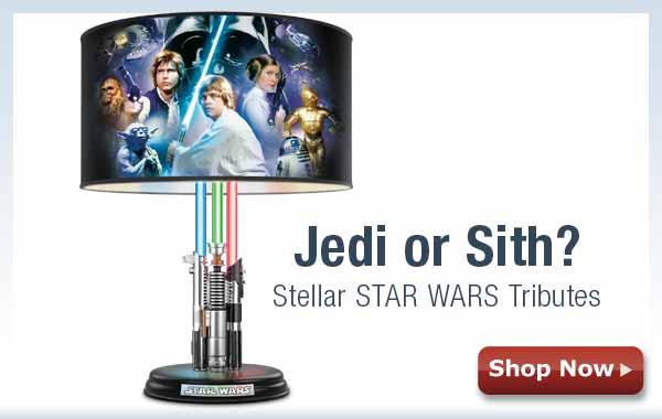 Jedi or Sith? Stellar STAR WARS Tributes - Shop Now