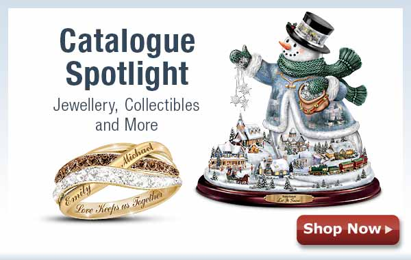 Catalogue Spotlight - Jewellery, Collectibles and More - Shop Now